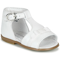 Chaussures Fille Sandales et Nu-pieds Little Mary GAELLE Blanc