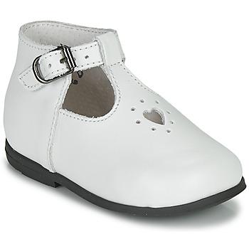 Chaussures Fille Sandales et Nu-pieds Little Mary NANNY SP Blanc
