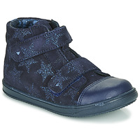 Chaussures Fille Baskets montantes Little Mary ADELINE Marine