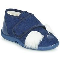 Chaussures Enfant Chaussons Little Mary KOALAVELCRO Bleu