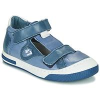 Chaussures Garçon Baskets basses Little Mary LORENZO Bleu
