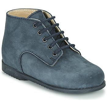 Chaussures Garçon Boots Little Mary MILOT Bleu