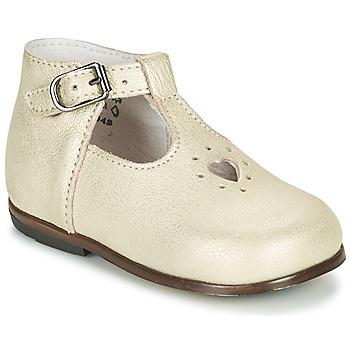 Chaussures Fille Sandales et Nu-pieds Little Mary NANNY SP Doré