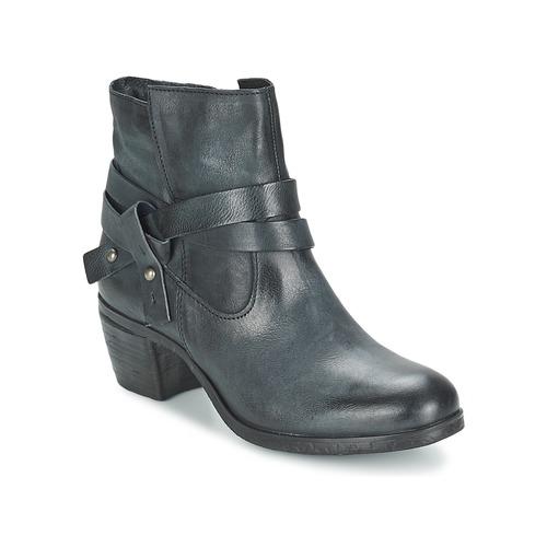 Chaussures Femme Bottines Dream in Green WADJI Carbone