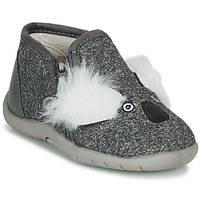 Chaussures Enfant Chaussons Little Mary KOALAZIP Gris