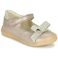 Chaussures Fille Ballerines / babies Little Mary LUDMILA Taupe
