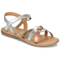 Chaussures Fille Sandales et Nu-pieds Little Mary LIGHT Argenté / Bronze / Rose Gold