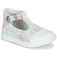 Chaussures Fille Sandales et Nu-pieds Little Mary VALSEUSE Blanc / Multicolore