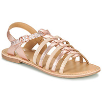 Chaussures Fille Sandales et Nu-pieds Little Mary BARBADE Rose
