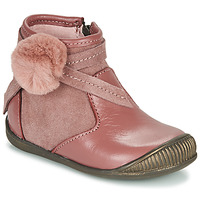 Chaussures Fille Boots Little Mary FRANCOISE Rose