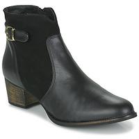 Chaussures Femme Bottines So Size SERELLE Noir