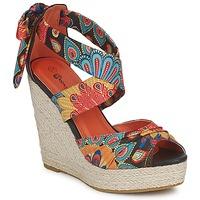 Chaussures Femme Sandales et Nu-pieds Moony Mood EFIRNIL Noir / Multicolore