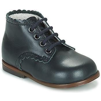Chaussures Fille Baskets montantes Little Mary VIVALDI Bleu