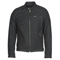 Vêtements Homme Vestes en cuir / synthétiques Jack & Jones JJEROCKY Noir