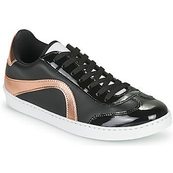 Chaussures Femme Baskets basses André CALLISTA Noir