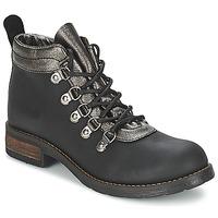 Chaussures Femme Boots Casual Attitude MIZATTE Noir