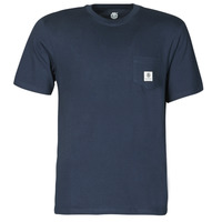 Vêtements Homme T-shirts manches courtes Element BASIC POCKT LABEL SS Marine
