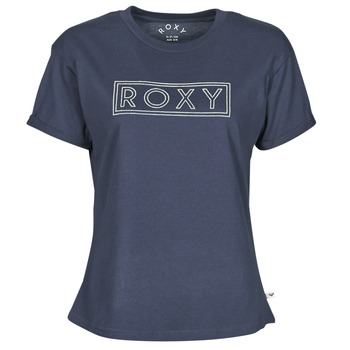 Vêtements Femme T-shirts manches courtes Roxy EPIC AFTERNOON WORD Marine