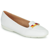 Chaussures Femme Ballerines / babies Geox D ANNYTAH Blanc