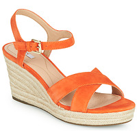 Chaussures Femme Baskets basses Geox D SOLEIL Orange