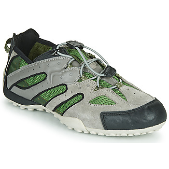 Chaussures Homme Baskets basses Geox UOMO SNAKE Gris / Vert