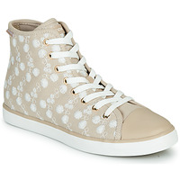 Chaussures Fille Baskets montantes Geox JR CIAK FILLE Beige