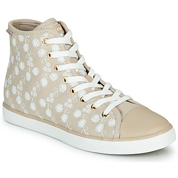 Chaussures Baskets basses Geox JR CIAK FILLE Beige