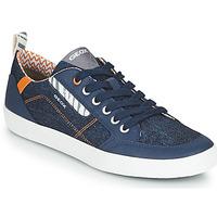 Chaussures Garçon Baskets basses Geox JR KILWI GARÇON Bleu