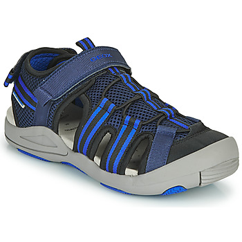 Chaussures Enfant Sandales et Nu-pieds Geox JR SANDALE KYLE Bleu