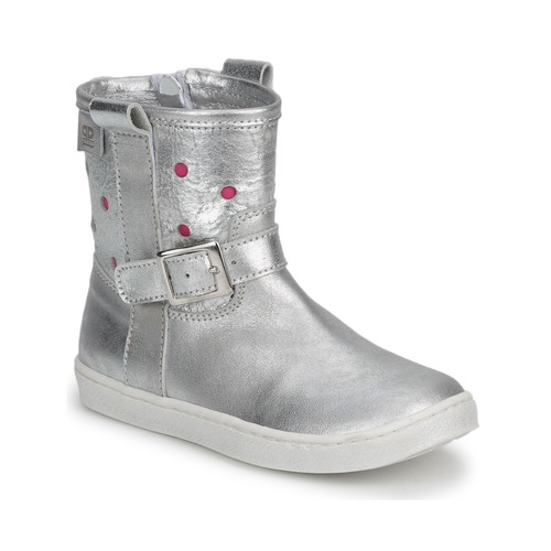 Chaussures Fille Boots Pinocchio PINO silver - fuxia