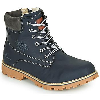 Chaussures Garçon Boots Tom Tailor 70502-NAVY Marine