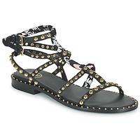 Chaussures Femme Sandales et Nu-pieds Ash PATCHOULI Noir / Multicolore