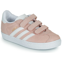 Chaussures Fille Baskets basses adidas Originals GAZELLE CF I Rose