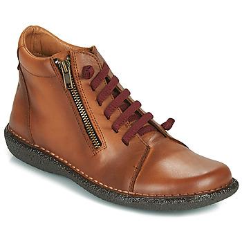 Chaussures Femme Boots Casual Attitude NELIO Camel