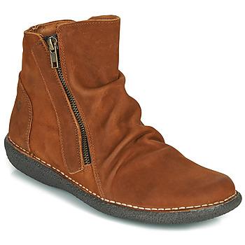Chaussures Femme Boots Casual Attitude NELIOO Marron
