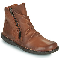 Chaussures Femme Boots Casual Attitude NELIOO Camel