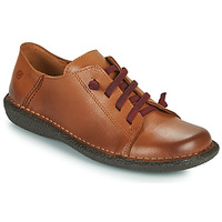Chaussures Femme Derbies Casual Attitude  Camel
