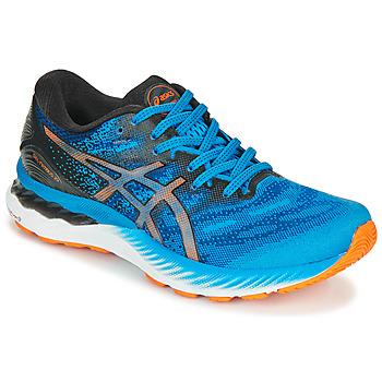 Chaussures Homme Running / trail Asics NIMBUS 23 Bleu / Multicolore