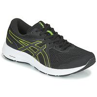 Chaussures Homme Running / trail Asics CONTEND 7 Noir / Jaune