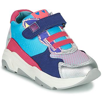 Chaussures Fille Baskets montantes Agatha Ruiz de la Prada BRAZIL Bleu