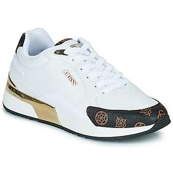 Chaussures Femme Baskets basses Guess MOXEA Blanc