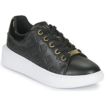 Chaussures Femme Baskets basses Guess BRADLY Noir
