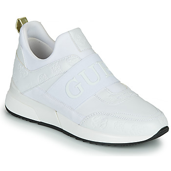 Chaussures Femme Baskets basses Guess MAYGIN Blanc