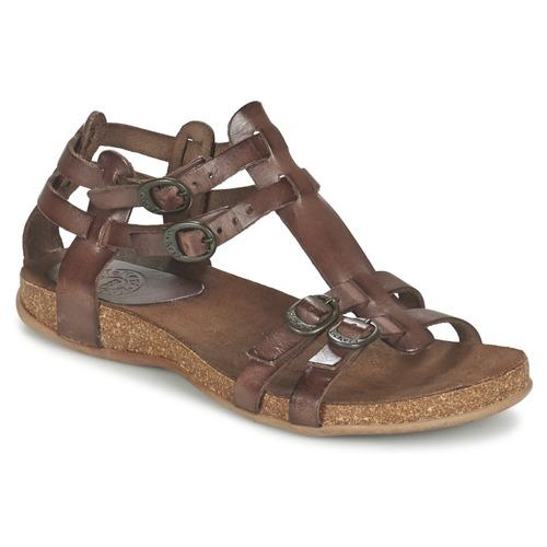 Chaussures Femme Sandales et Nu-pieds Kickers ANA Marron