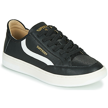 Chaussures Homme Baskets basses Superdry BASKET LUX LOW TRAINER Noir