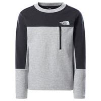 Vêtements Garçon Sweats The North Face SLACKER CREW Gris