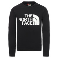Vêtements Garçon Sweats The North Face DREW PEAK LIGHT CREW Noir