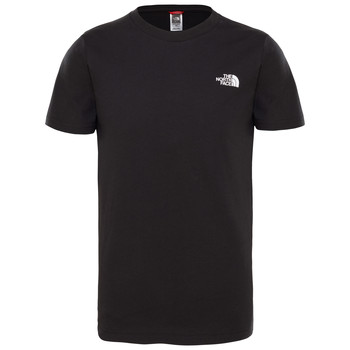 Vêtements Garçon T-shirts manches courtes The North Face SIMPLE DOME TEE Noir