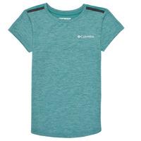 Vêtements Fille T-shirts manches courtes Columbia TECH TREK Vert
