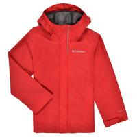 Vêtements Garçon Blousons Columbia WATERTIGHT JACKET Rouge